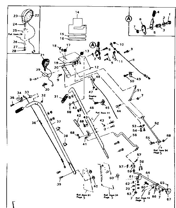 CRAFTSMAN CRAFTSMAN 32 IN.-10 H.P. SNOW THROWER Parts