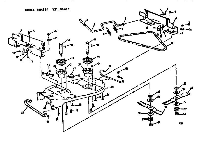 Craftsman 420cc Riding Mower Engine Diagram
