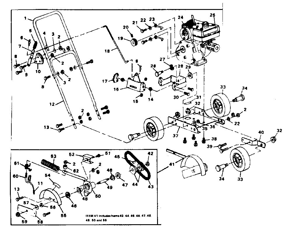 replacement parts diagram and parts list for sears allproductsparts
