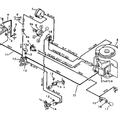 Sears Lt2000 Wiring Diagram Pto Indicator Switch Craftsman Model 502255380 Lawn Tractor Genuine Parts