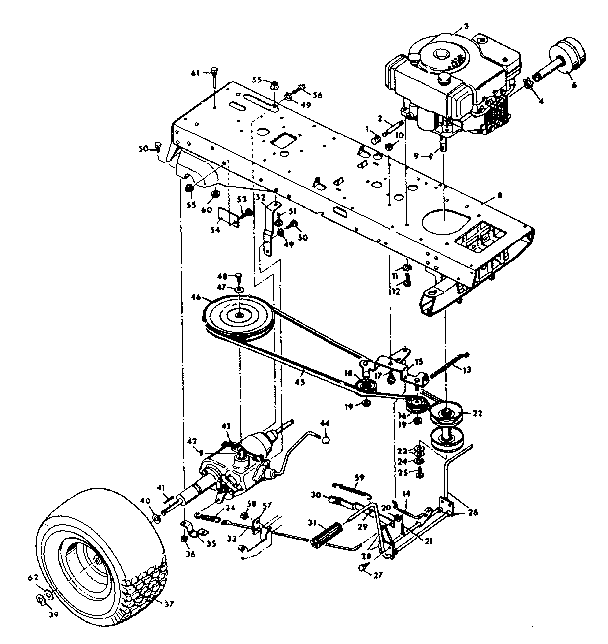 Sears Craftsman Lawn Mower Parts Manual