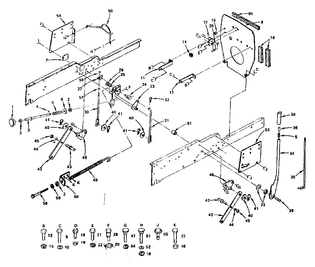 Craftsman Garden Tractor 954140005 Wiring Diagram