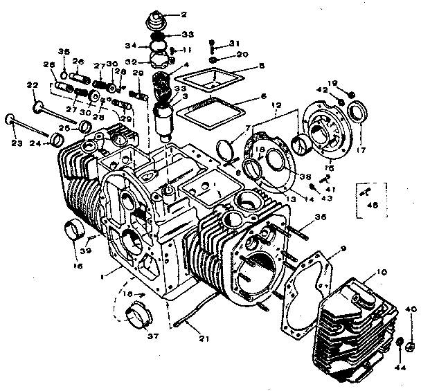onan generator engine diagram