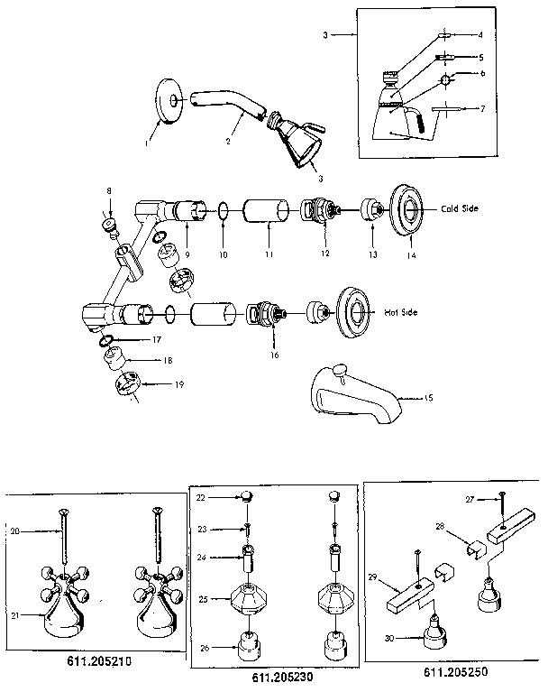 [MANUALS] Pegasus Bathroom Faucet Parts Diagram Manual