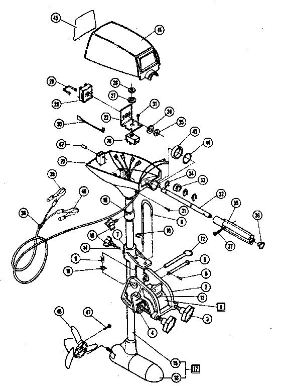 Shakespeare Trolling Motor Wiring Diagram