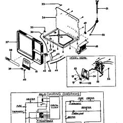 Cuisinart Dcc 1200 Parts Diagram Bathtub Drain Assembly Sunbeam Model 15306 Coffee Tea Maker Genuine