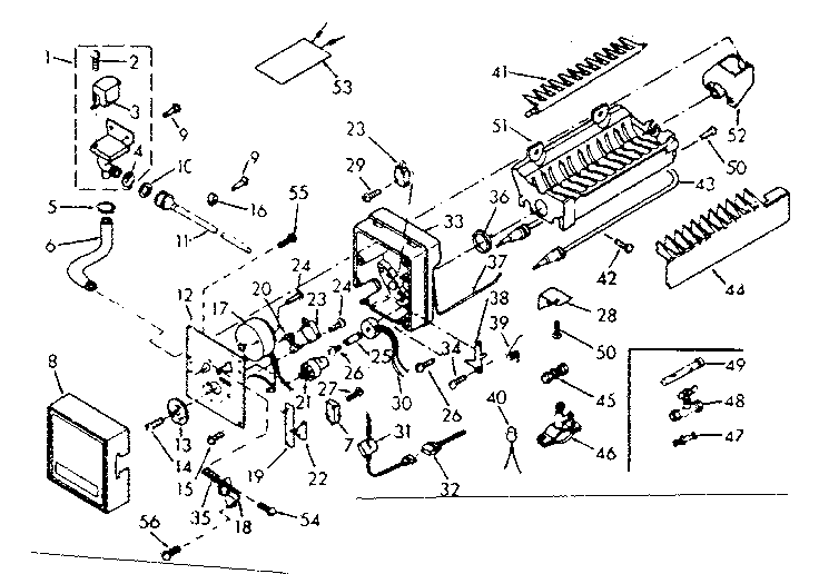 Kenmore Coldspot Ice Maker Diagram Within Diagram Wiring