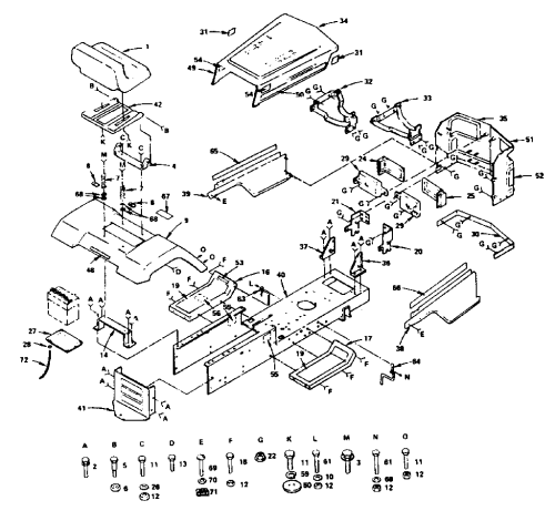 small resolution of craftsman starter wiring diagram