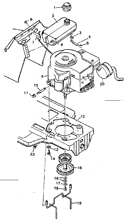 Lawn Mower Engine Diagram