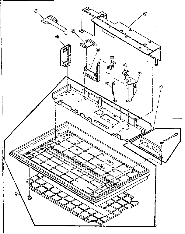 POWER PLATE ASSEMBLY Diagram & Parts List for Model