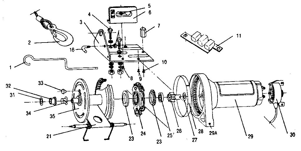 superwinch parts diagram part in this diagram