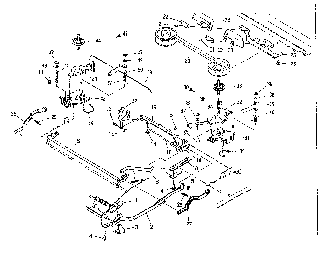 RIBBON MECHANISM Diagram & Parts List for Model 16153151