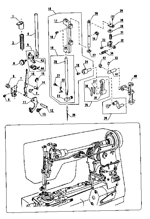 28+ Kenmore Sewing Machine Wiring Diagram PNG