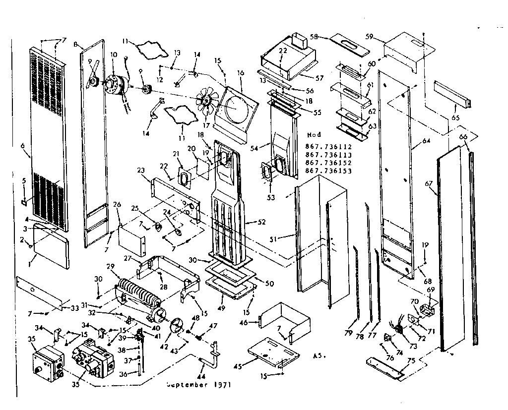 Wall Furnace: Sears Wall Furnace Parts