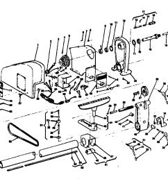 engine lathe part diagram [ 1024 x 878 Pixel ]