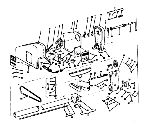 small resolution of engine lathe part diagram