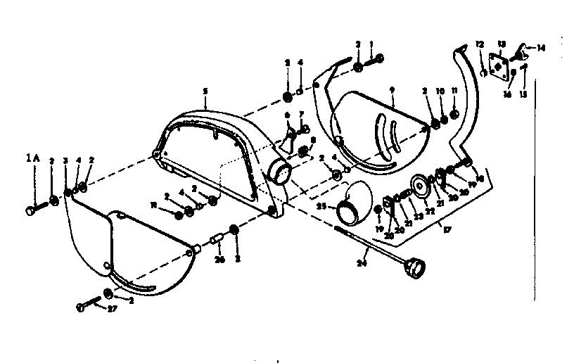 CRAFTSMAN SEARS CRAFTSMAN 12 IN RADIAL ARM SAW Parts