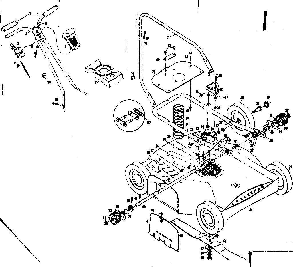 CRAFTSMAN 24 IN. CRAFTSMAN SELF-PROPELLED MOWER Parts