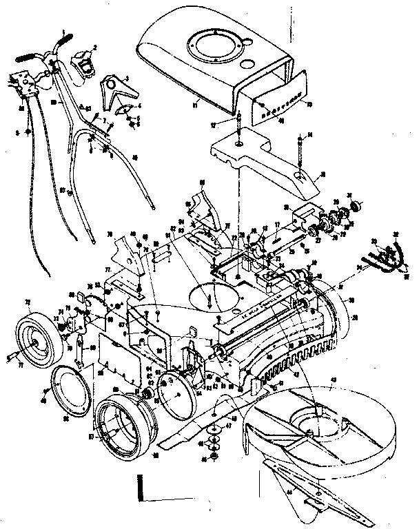 CRAFTSMAN 22 IN. CRAFTSMAN SELF-PROPELLED MOWER Parts