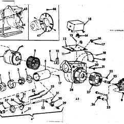 Oil Furnace Parts Diagram Car Wiring Diagrams Ford Burner Assembly And List For Model 867148