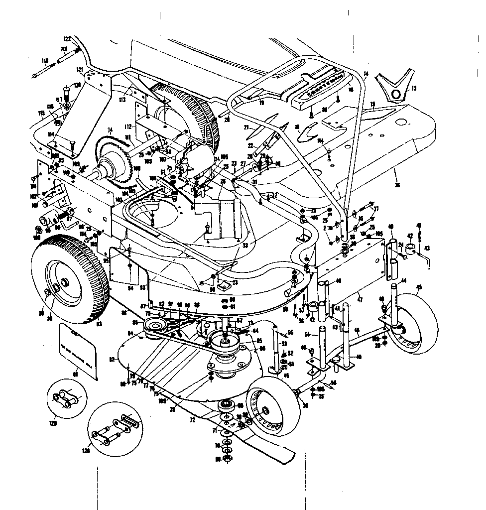 hight resolution of  craftsman sears riding mower wiring diagram parts craftsman craftsman 26 riding mower parts