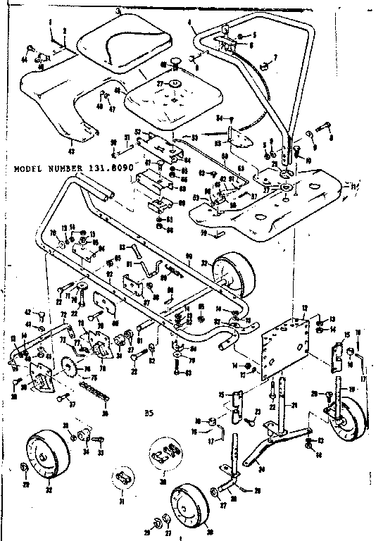 Craftsman Riding Lawn Mower Parts