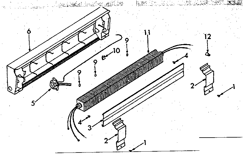 Electric Baseboard Heater Parts Diagram, Electric, Free
