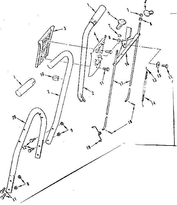 CRAFTSMAN CRAFTSMAN FRONT THROW REEL POWER MOWER Parts