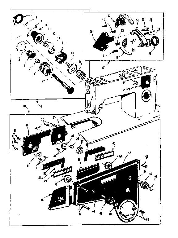 TENSION CONTROLS Diagram & Parts List for Model 158480