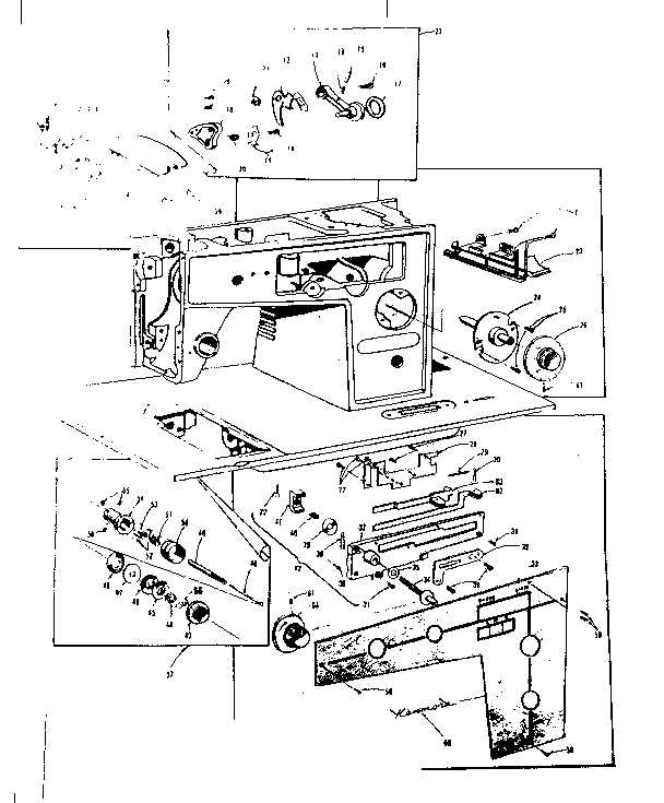 31 Kenmore Sewing Machine Tension Assembly Diagram