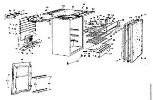 KENMORE COLDSPOT REFRIGERATOR Parts   Model 6447376