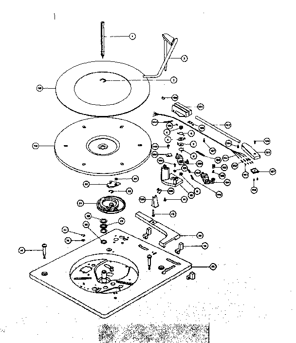 Phonograph Parts Diagram