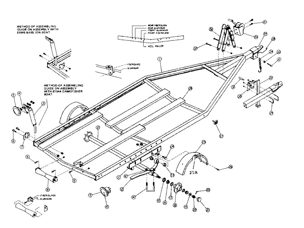 medium resolution of diagram of jon boat parts wiring diagramlooking for sears model 371619760 boating repair u0026