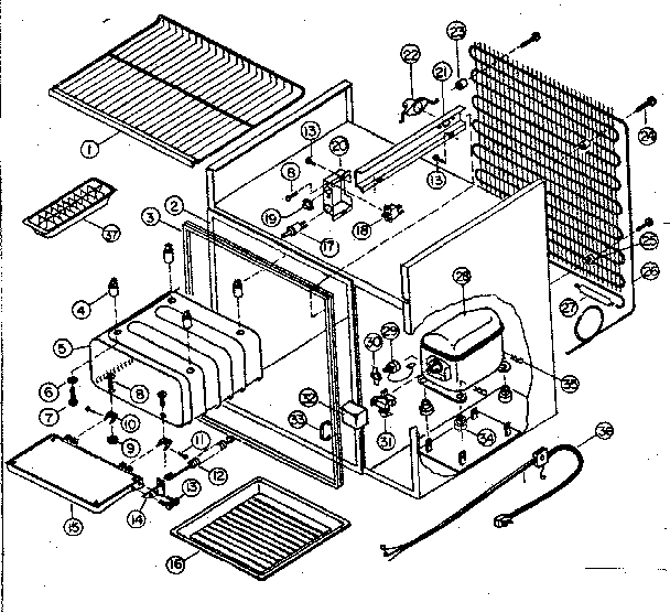 Refrigerators Parts: 30 Inch Refrigerator