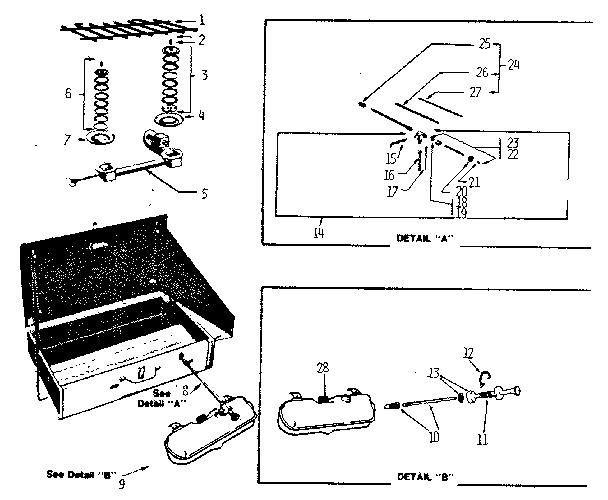 Coleman Gas Stove 533 Diagram For Parts List / Coleman Us