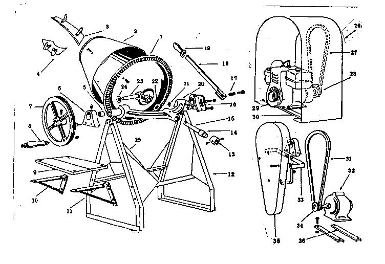 Kobalt Cement Mixer Wiring Diagram