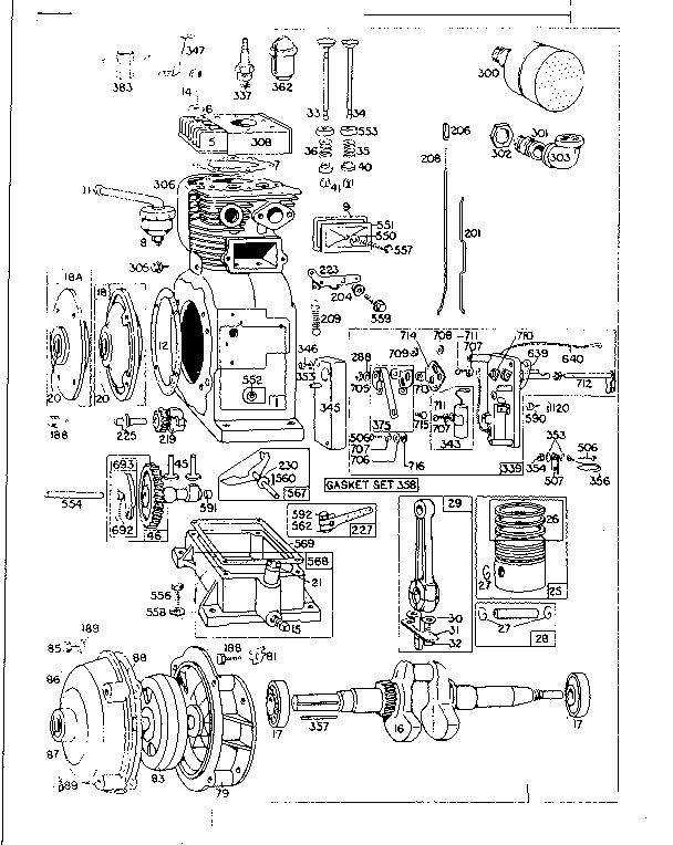 BRIGGS & STRATTON BRIGGS & STRATTON GASOLINE ENGINE Parts