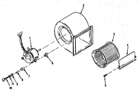 ICP Heil Gas Furnaces Burner & manifold assembl ... Parts ...