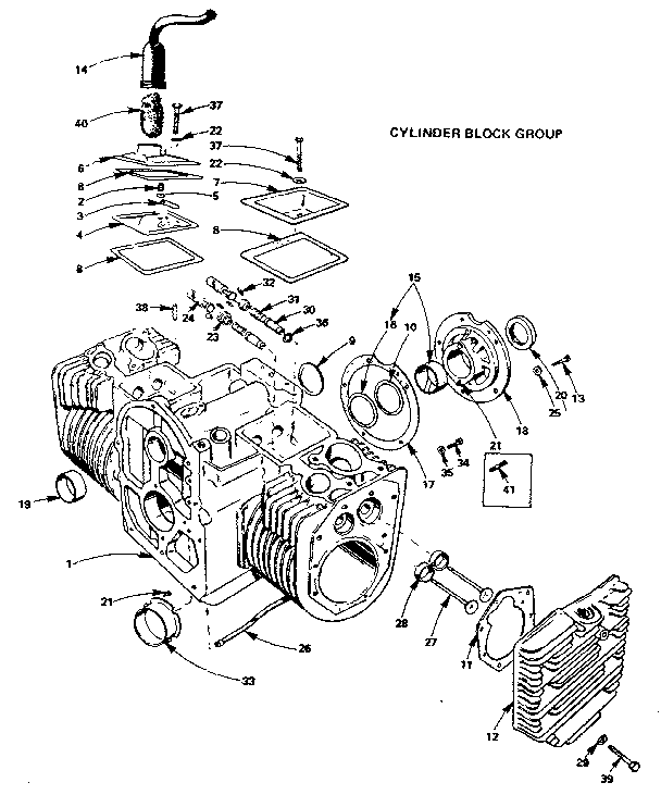 Onan 318 Engineponent Diagram