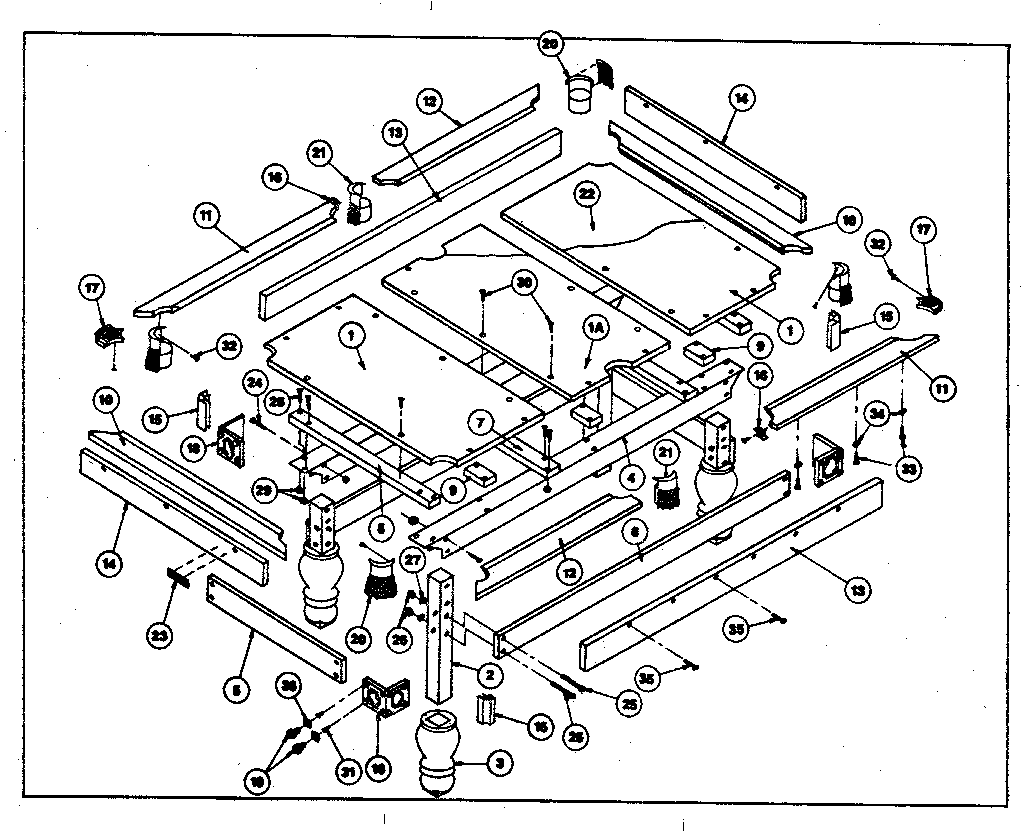 hight resolution of part diagram table