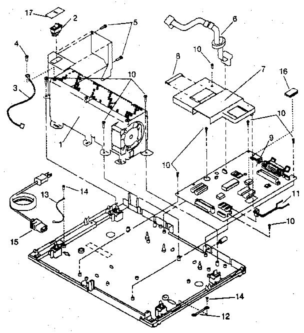 ELECTRONICS Diagram & Parts List for Model 5204 Ibm-Parts
