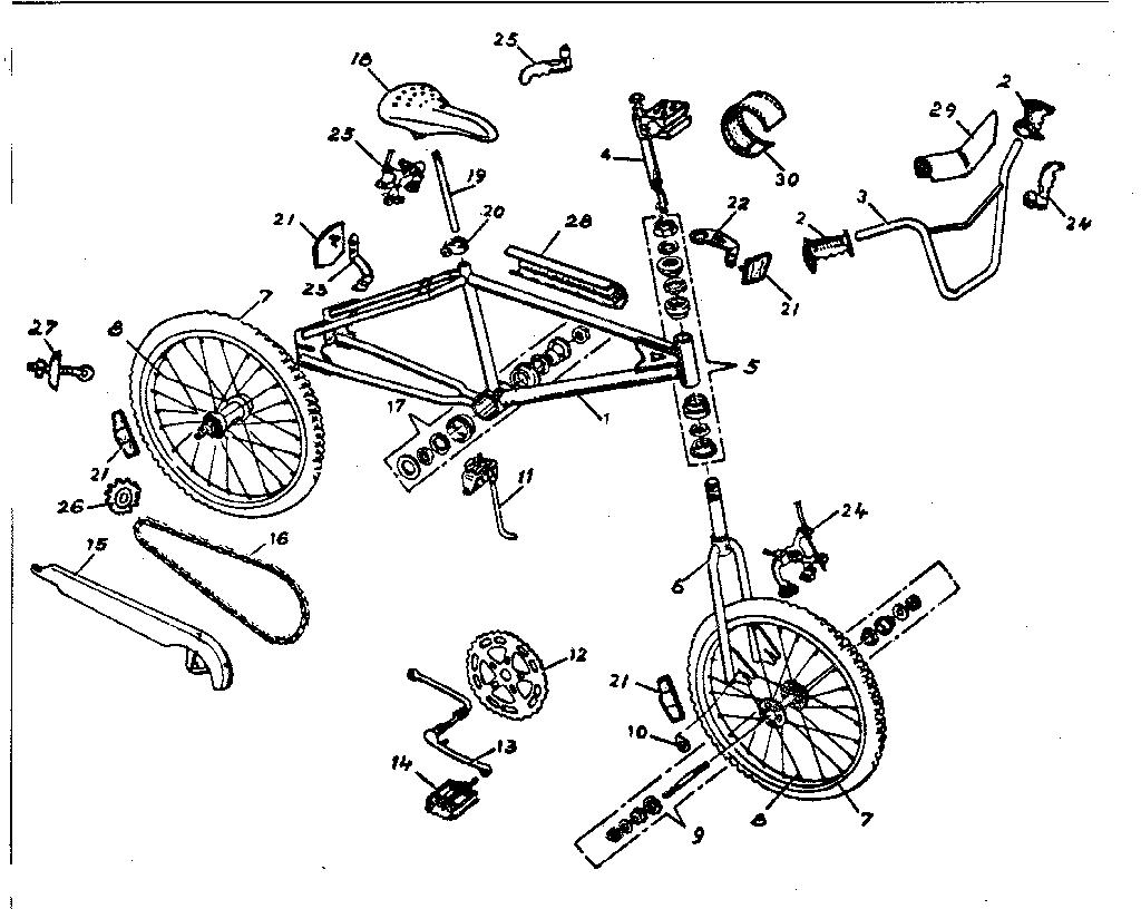 [Download 44+] Road Bicycle Parts Diagram