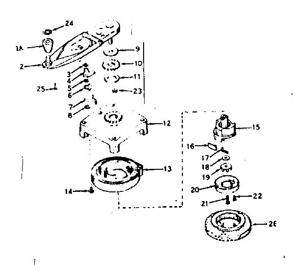 NO-PULL STARTER Diagram & Parts List for Model 143184172