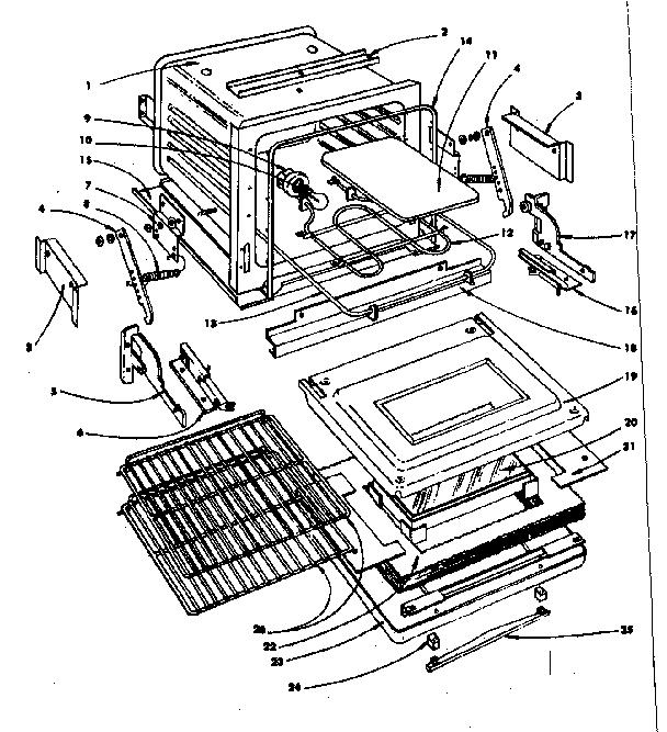 Oven Range: Oven Range Parts