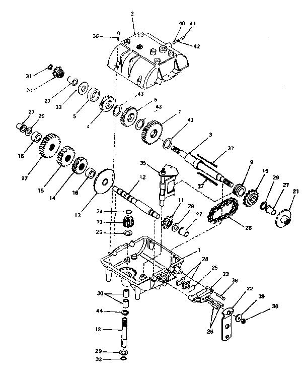 Peerless Gearbox Parts List
