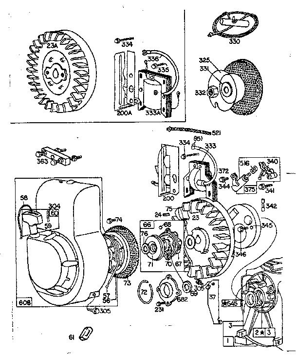 BRIGGS & STRATTON Briggs And Stratton Gas Engine Rewind