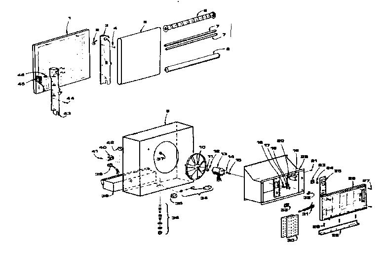 KENMORE KENMORE WINDOW MOUNT EVAPORATIVE AIR COOLER Parts