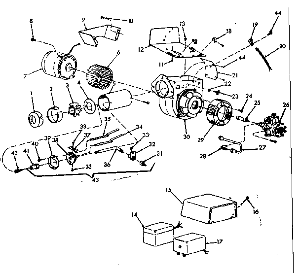 oil furnace parts diagram 2000 ford taurus engine icp model lo 170 3 heater genuine