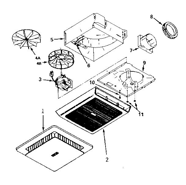 Bathroom Fan Parts