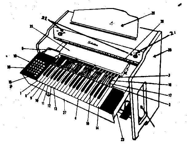 [DIAGRAM] Circuit Diagram Electronic Organ FULL Version HD